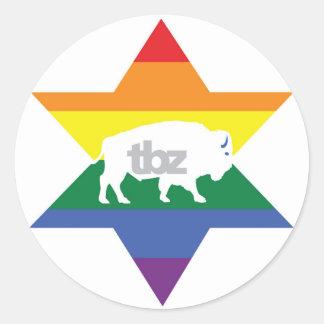 TBZ had Pride! Stickers
