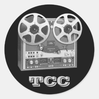TCC for Reel Classic Round Sticker