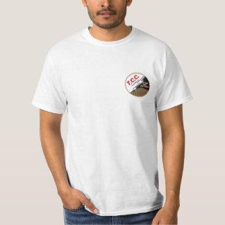 TCC Logo T-shirt, White T-Shirt