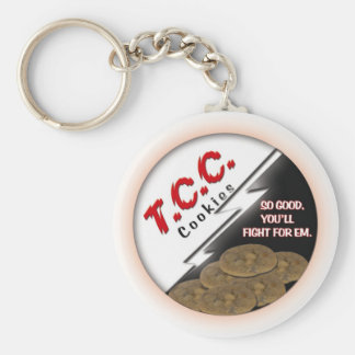 TCC Round Logo Key Chain