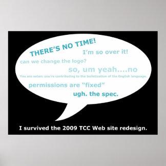 TCC Web Redesign Poster