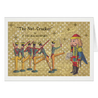 Tchaikovsky Nutcracker Soldiers Christmas Card