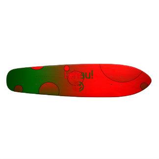 Tchau Portugal Flag Colors Pop Art Skate Decks
