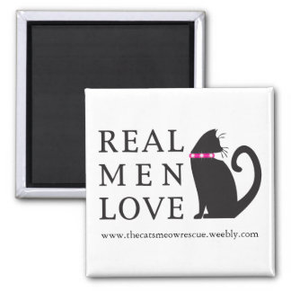 "TCMR ""Real Med Love Cats"" Magnet"