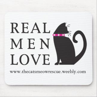 "TCMR ""Real Men Love Cats"" Mousepad"