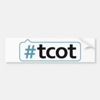 #tcot Bumper Sticker