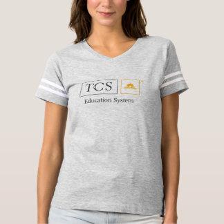 TCS Education System Women's Football T-Shirt