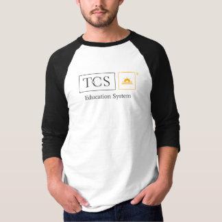 TCS Men's Basic 3/4 Sleeve Raglan T-Shirt