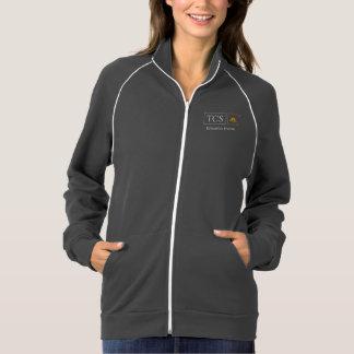 TCS Unisex American Apparel Fleece Track Jacket