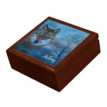 TCWC - Blue Wolf Christmas Gift Box
