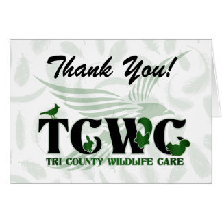 TCWC - Logo Thank You Notes