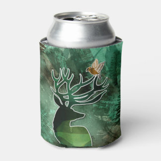"TCWC - ""Woodland Harmony Collection"" Nature Theme Can Cooler"