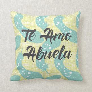 Te Amo Abuela Pillow Cover