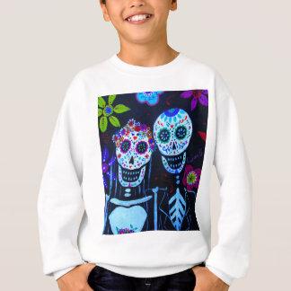 Te amo Dia de los Muertos Wedding Sweatshirt