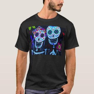 Te amo Dia de los Muertos Wedding T-Shirt