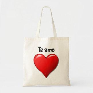 Te amo - I love you in Spanish