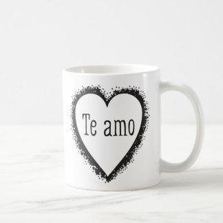 Te amo, I love you in Spanish Coffee Mug