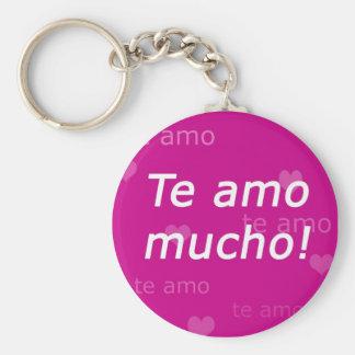 Te Amo Keychain