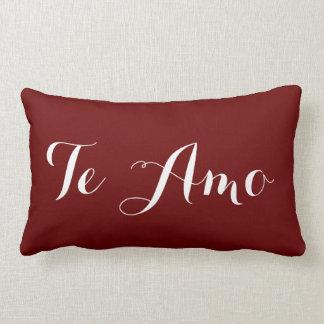 Te Amo Lumbar Pillow