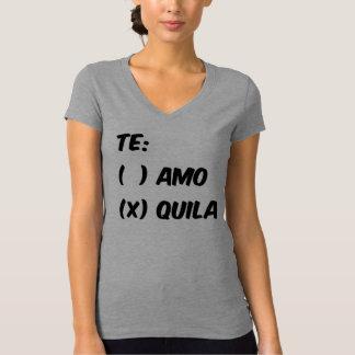 TE AMO OR QUILA T-SHIRT