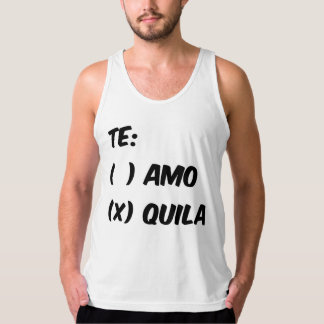 TE AMO OR QUILA TANK TOP