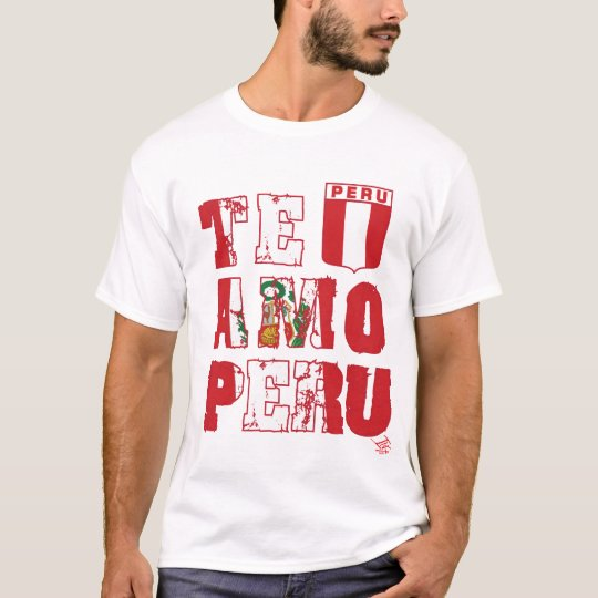 Te Amo Peru (long/light) - InKa1821 Label T-Shirt