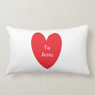 Te Amo Pillow