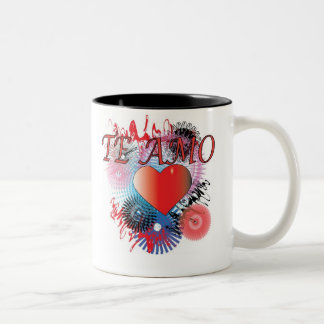 TE AMO Two-Tone COFFEE MUG
