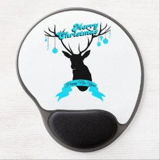 Te décorez deer Merry Carte de voeux Tapis De Souris Gel