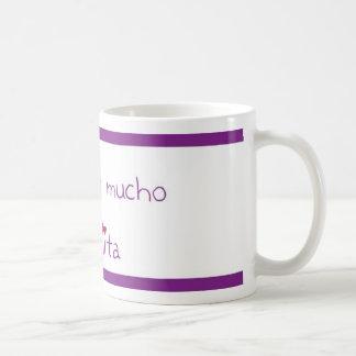 Te quiero mucho abuelita coffee mug