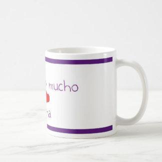 Te quiero mucho MAMA Coffee Mug