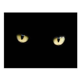 TE VEO! (I SEE YOU!) - (cat's eyes) ~ Postcard