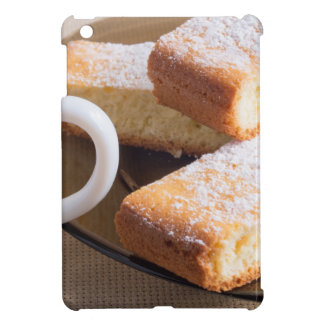 Tea and a plate of fresh biscuits iPad mini covers