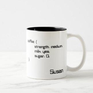 Tea and Coffee Cascading Style Sheet Mug