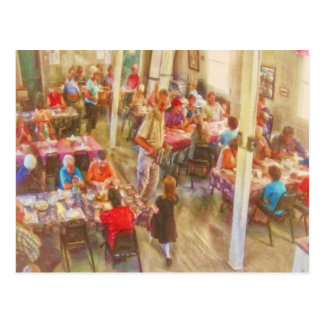 Tea and Cookies in Gabarus by Shawna Mac Post Card