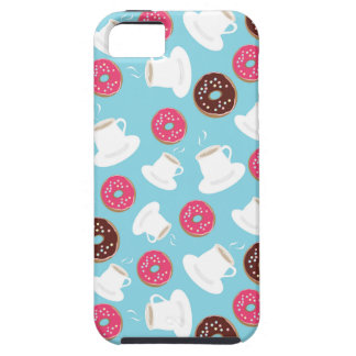 Tea and donuts iPhone 5 case