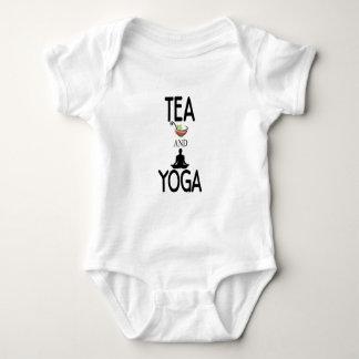 Tea And Yoga Baby Bodysuit