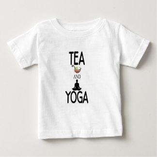 Tea And Yoga Baby T-Shirt