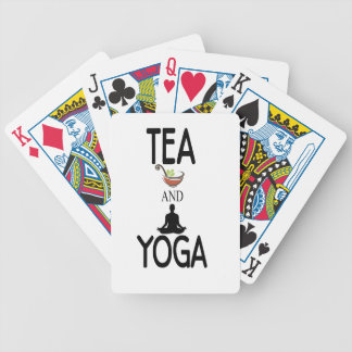 Tea And Yoga Bicycle Playing Cards