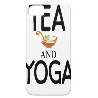 Tea And Yoga Case For The iPhone 5