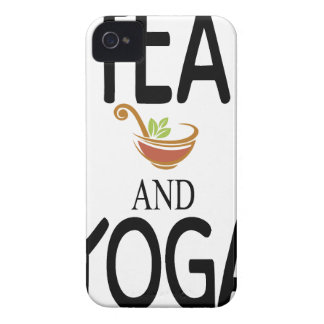Tea And Yoga Case-Mate iPhone 4 Cases