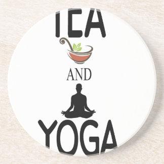 Tea And Yoga Coaster