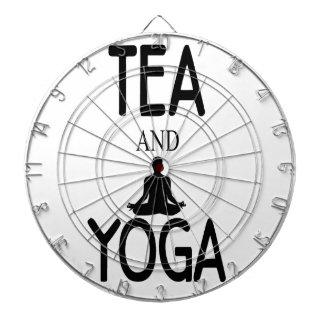 Tea And Yoga Dartboard