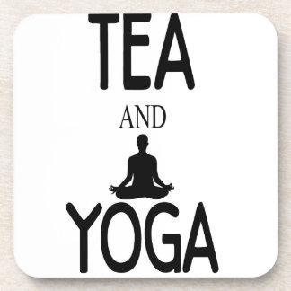 Tea And Yoga Drink Coasters