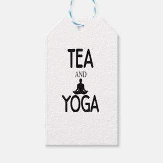 Tea And Yoga Gift Tags