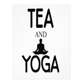 Tea And Yoga Letterhead Template