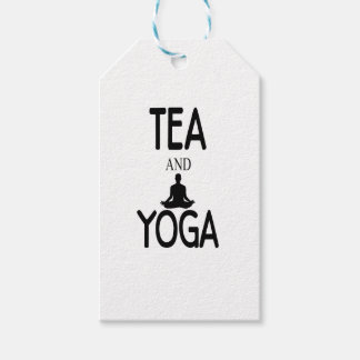 Tea And Yoga Pack Of Gift Tags