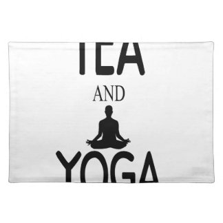 Tea And Yoga Placemat