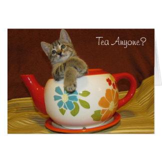 Tea Anyone Card