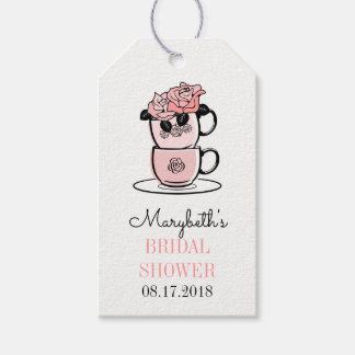 Tea Cup Bridal Shower Gift Tags Pack Of Gift Tags